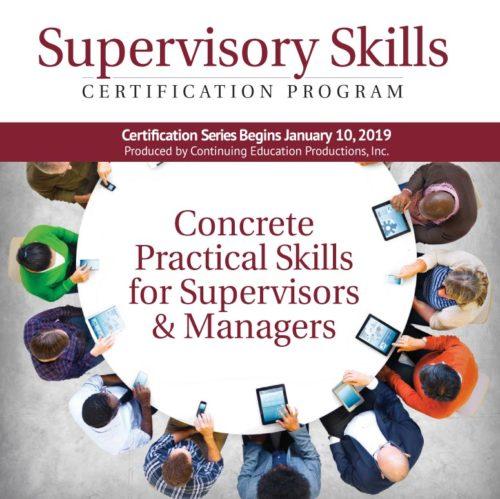 Supervisory Skills program